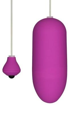 Виолетово вибро јајце Funky egg on a wire
