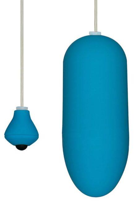 Светло сино вибро јајце funky egg on a wire