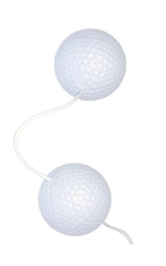 Вагинални топчиња во форма на голф топчиња