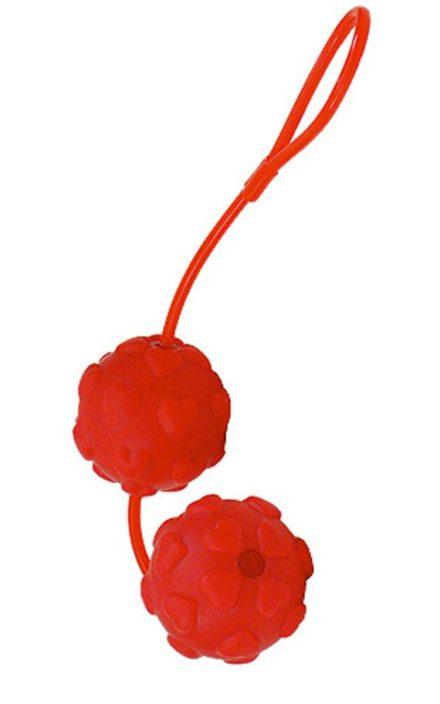 Вагинални топчиња дизајнирани со релјефни срценца