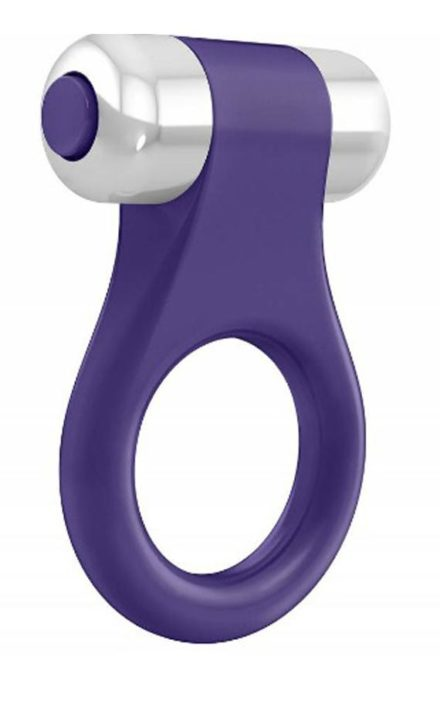 Виолетов прстен за пенис OVO