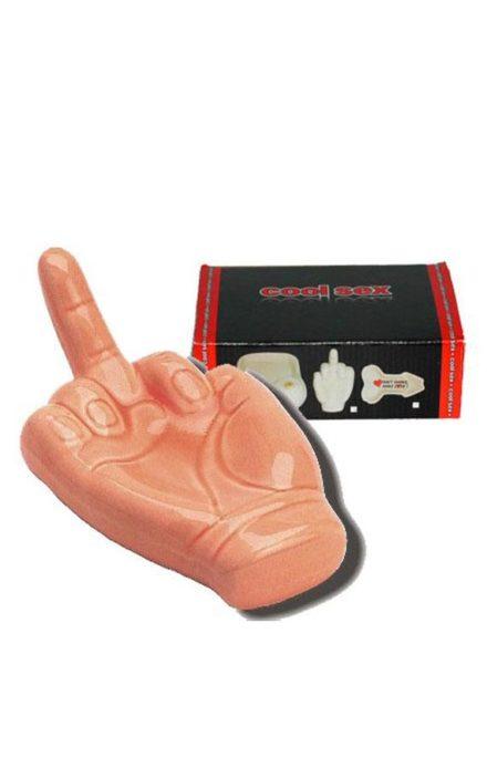 Пепелник среден прст