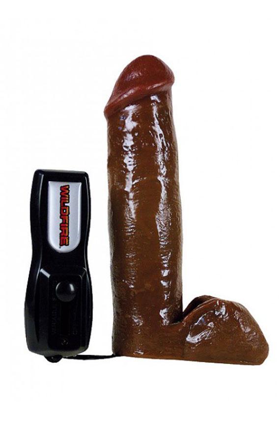 Вибратор кафена боја 19 см