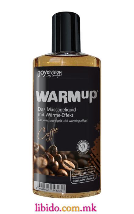 Загревачко масло за масажа од кафе 150мл